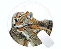 Yantengの賭博のマウスマット、動物のオオカミの大人の賭博のマウスパッドのマット