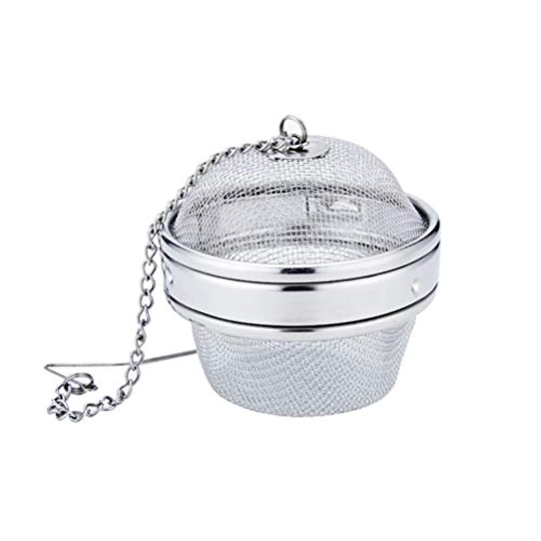 BESTONZON 茶ストレーナーフィルターステンレス鋼メッシュ茶注入器スパイスボール医学フィルター茶アクセサリー