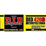 D.I.D(大同工業)バイク用チェーン クリップジョイント付属 420D-100RB STEEL(スチール) 二輪 オートバイ用