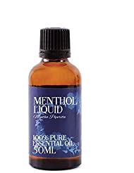 Mystic Moments | Menthol Liquid Essential Oil - 50ml - 100% Pure