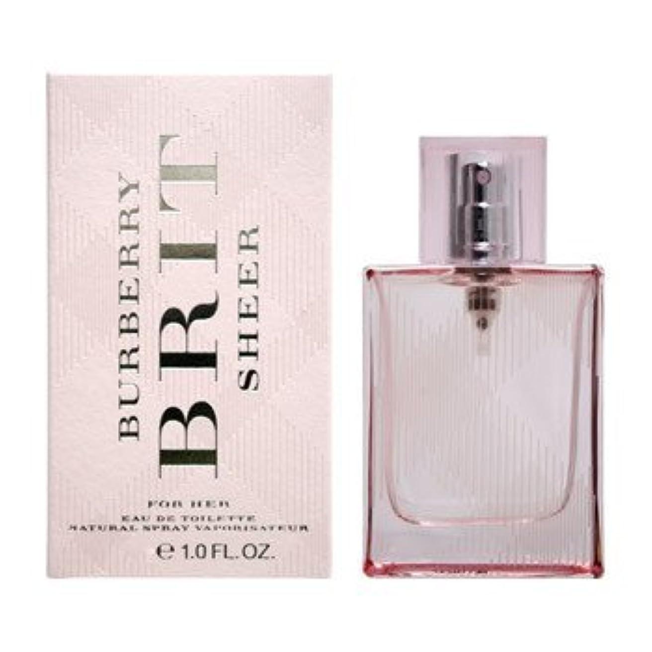 地平線現代の縫う【バーバリー 香水】ブリット シアー ET 30ML SP 【並行輸入品】