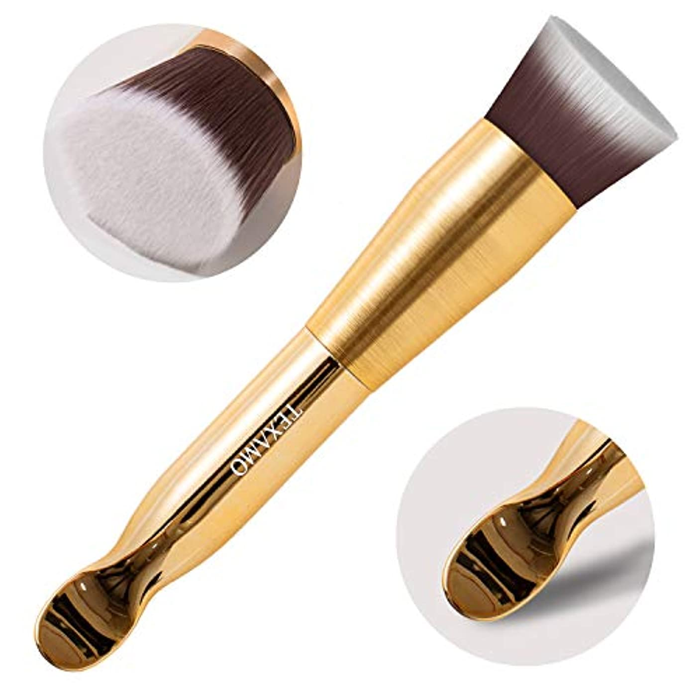 デコラティブなしで根拠Texamo Makeup Brush リキッドファンデーションブラシ