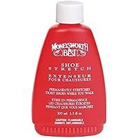 Moneysworth & Best Shoe Stretch Liquid Formula Works While You Walk, 3.5 Oz, Clear