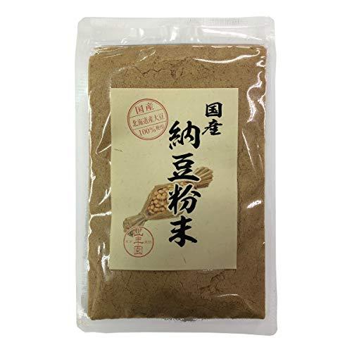 【国産100%】納豆粉末 50g 北海道産大豆使用