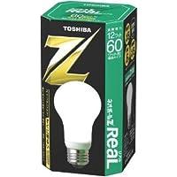 東芝 ネオボールZリアル 電球形蛍光ランプ 電球60ワットタイプ 昼白色 EFA15EN/12-R 口金直径26mm