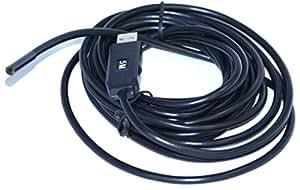 最新版 5.5ミリ カメラ USB接続エンドスコープ(内視鏡) 防水 5メートル