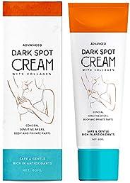 Natural Vine Underarm Cream Dark Spot Cream, Instant Result, Brighten & Moisturizes Armpit, Neck, Knees an