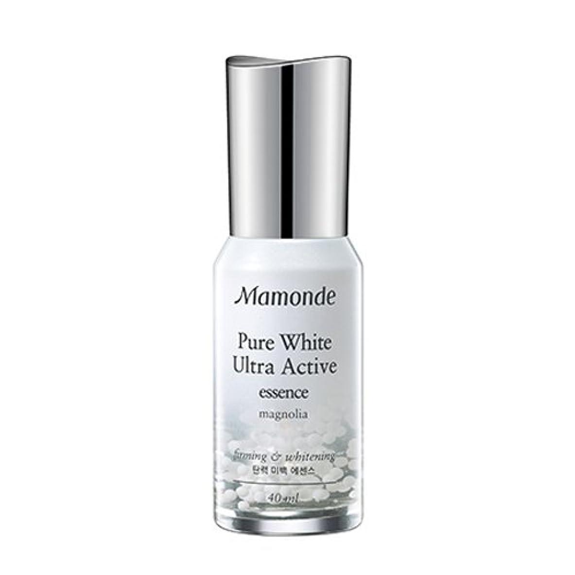 ファイバメモいたずらなMamonde Pure White Ultra Active Essence 40ml/マモンド ピュアホワイト ウルトラ アクティブ エッセンス 40ml