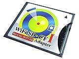 Wifi SD対応 SD カードからCF TYPE I への変換アダプター SDHC/SDXC対応 海外パッケージ品