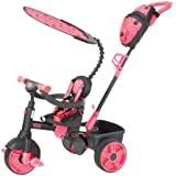 Little Tikes 4 in1 Deluxe Trike Neon Pink Trike Ride On