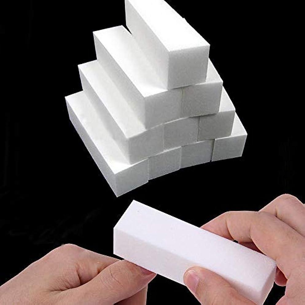 カップルコンピューターを使用するリスク爪やすり Ggorw 10本 ネイルケア やすり スポンジネイルファイル ジェルネイル用ファイル 4面ブロックバッファー爪ヤスリ ネイルケアセッ