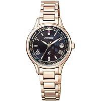 [シチズン] 腕時計 クロスシー エコ・ドライブ 電波時計 ティタニアライン ハッピーフライトシリーズ ラグビー日本代表モデル BRAVE BLOSSOMS Limited Models EC1168-52E レディース ピンクゴールド