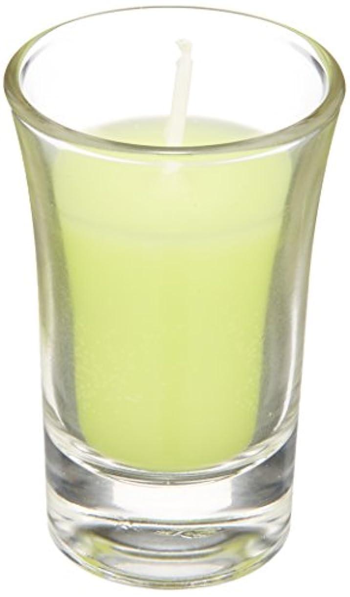 ビリーヤギラフレシアアルノルディ折り目ラナンキュラスグラスキャンドル 「 ライトグリーン 」