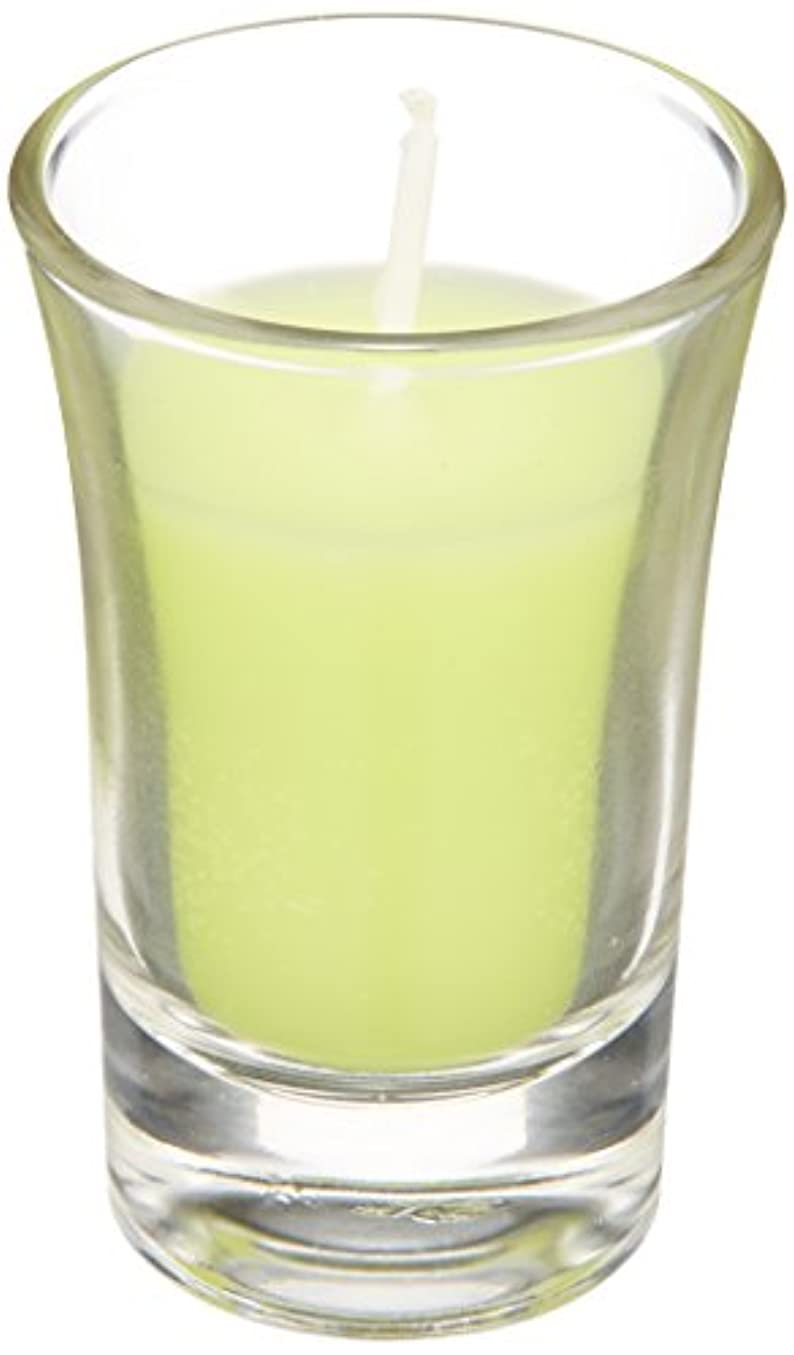 パターン承知しました見積りラナンキュラスグラスキャンドル 「 ライトグリーン 」