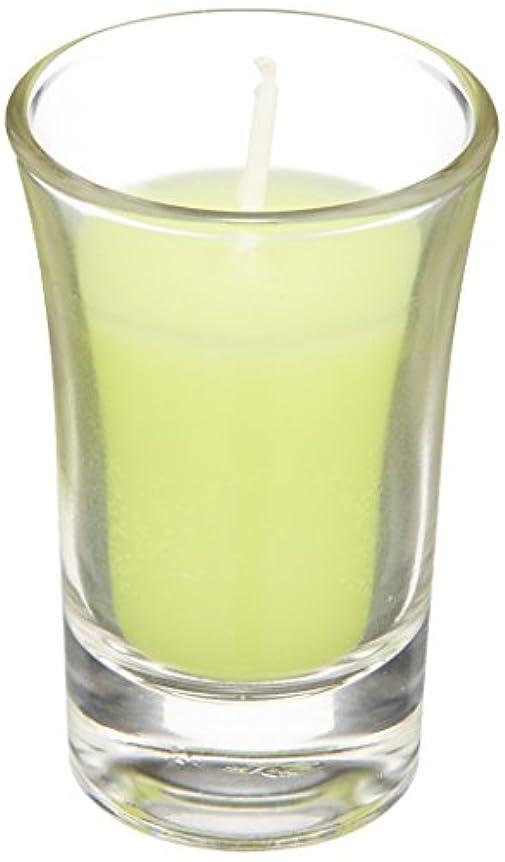 擬人化キャンセルキャンセルラナンキュラスグラスキャンドル 「 ライトグリーン 」