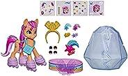 My Little Pony: A New Generation MovieCrystal Adventure SunnyStarscout- 3-Inch Orange Pony Toy, Surprise Ac