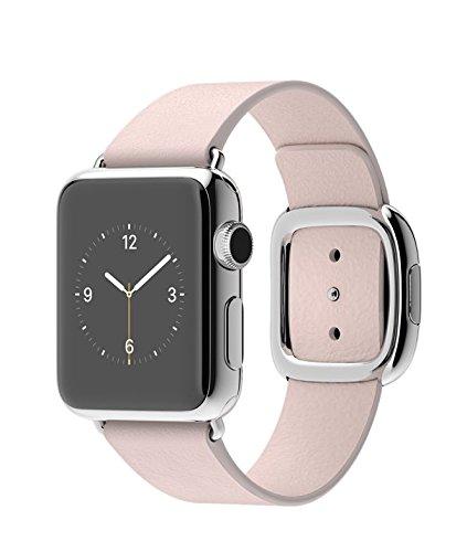 Apple Watch 本体 2015 アップル スマート ウォッチ Smart Watch 腕時計[並行輸入品] (38mmステンレススチールケース ソフトピンクモダンバックル)
