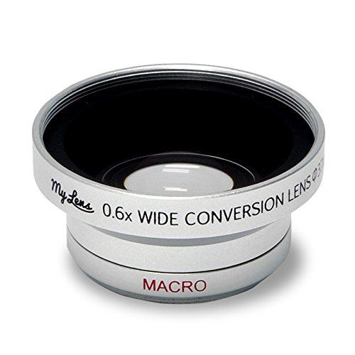 [Full HD 대응]비디오 카메라용 광각 0.6배 와이드 컨버젼 렌즈「My Lens(마이・렌즈)시리즈」[렌즈경 25mm,27mm,28mm,30mm,30.5mm,37mm 대응]-MLE37W06