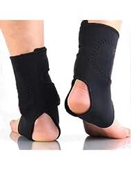 2 ピース 自己発熱 トルマリン 遠赤外線磁気治療足首のサポートブレースマッサージャー 痛みリリーフ