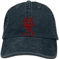 Hip hop Baseball caps Warhammer 40K Cap Khaine God of War Rune Eldar Symbol Dawn of War Game Cap Cosplay Print for boyfr