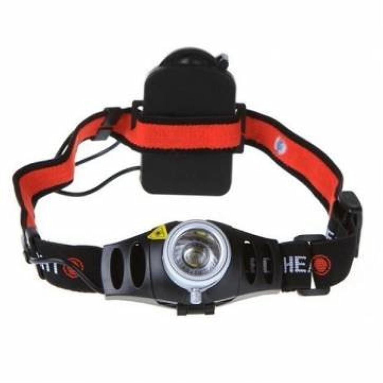 行商編集者統合バイク超高輝度500ルーメンCREE Q5 LEDヘッドランプヘッドライトズーム可能