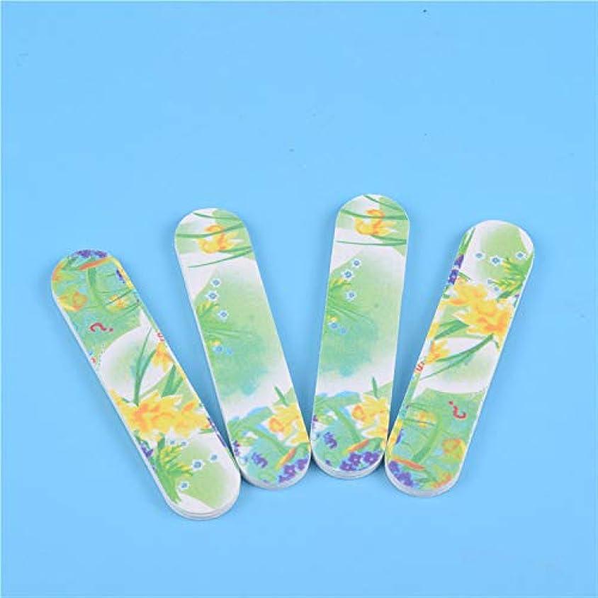 免疫アダルト合計CELINEZL CELINEZL 100 PCSポリッシングバーネイルファイルバッファーポリッシャー、爪と足の爪用