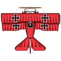 x-kites Microkite Mini Mylar Kite – Red Baron