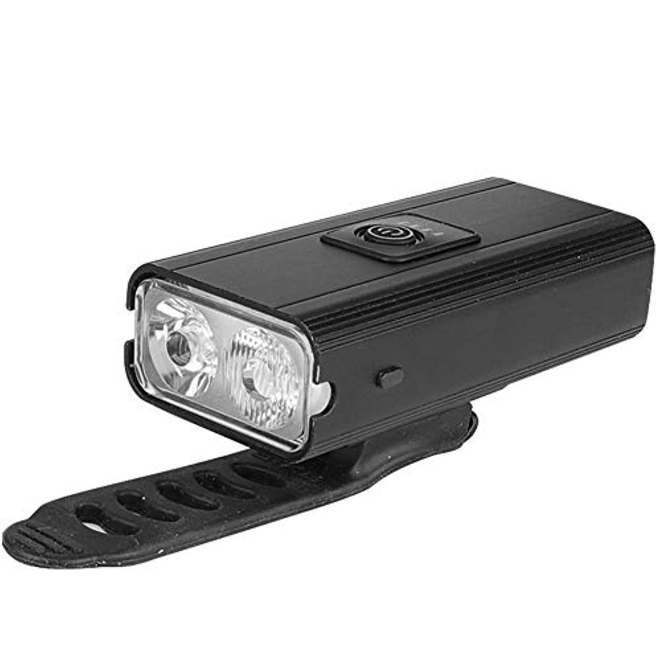 切り離すしてはいけません白鳥USB自転車ライトは、充電式自転車ライトサイド道ハイキングキャンプサイクリングウォーキング用電源ディスプレイの光リマインダー防水6つの照明モードを赤