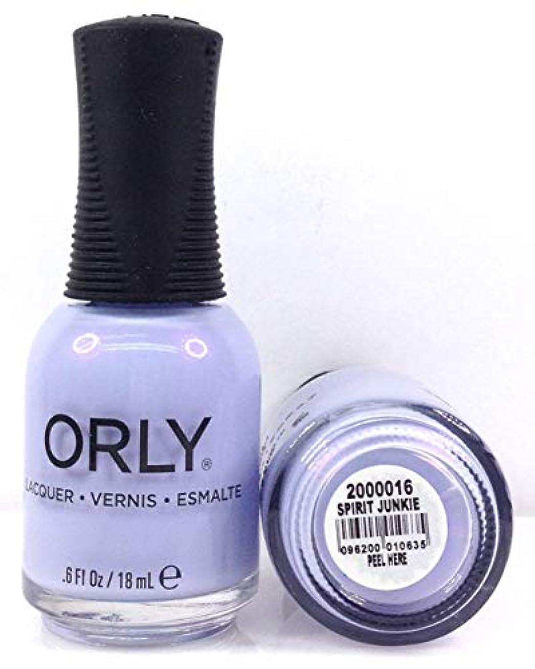 リード羽地殻Orly Nail Lacquer - Radical Optimism 2019 Collection - Spirit Junkie - 0.6 oz / 18 mL