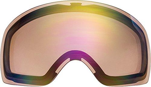 自社製 オークリー FLIGHT DECK XM ゴーグル用交換レンズ PINK MIRROR