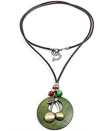 [EasternStar] レディース ネックレス Ladies Necklace ラリエット Sweater Chain レトロ 植物