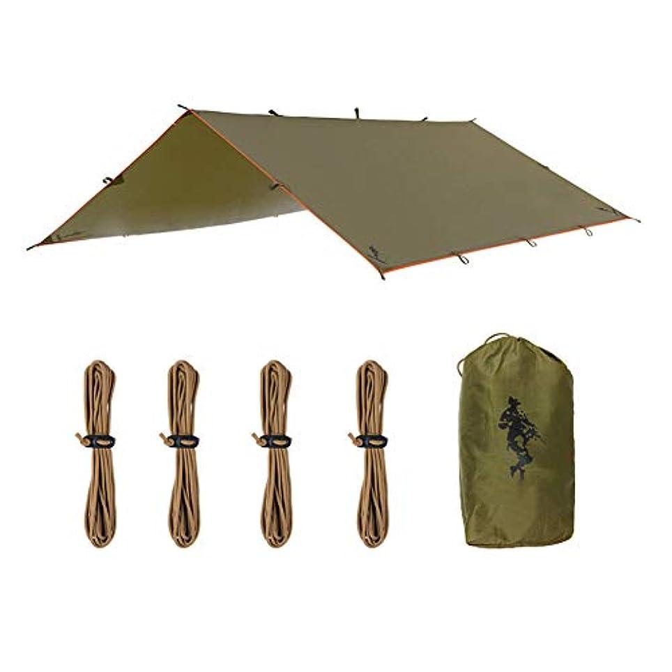 失速病冬屋外用キャンプ旅行日陰のためのキャンプ用防水シートシェルター防水ポータブル防水シート多目的レインカバー