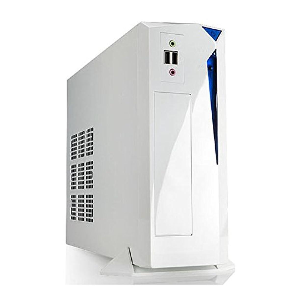 学校教育せせらぎ何十人もIN WIN Mini-ITX Mini-DTX 超スーパー ミニタワーPCケース 白 IW-BP655W/300H