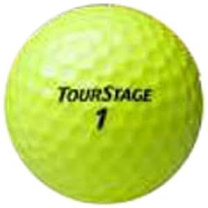 BRIDGESTONE(ブリヂストン) ゴルフボール ツアーステージ エクストラディスタンス 1ダース(12球入り) イエロー TEYX
