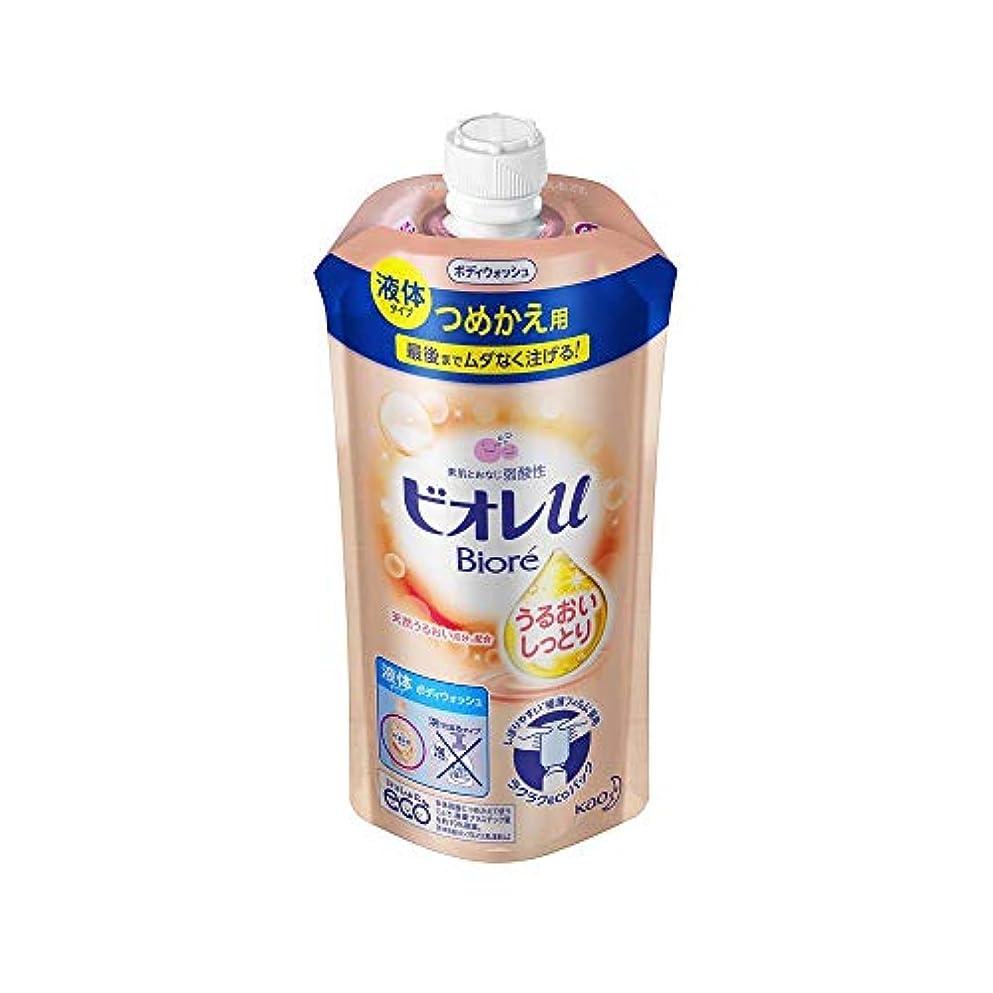 ぴかぴか掃く冷ややかな花王 ビオレu うるおいしっとりつめかえ用 340ML