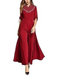 7f258898bc6a0 Zhhlaixing Formal イブニング マキシドレス, A ライン Maxi Dress Kaftan/Caftans ドレス for  レディース