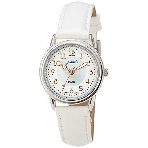 [ジェイ・アクシス]j-axis 腕時計 ファッション AL1280-W レディース