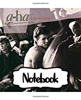 Notebook: A-ha Norwegian Rock Band Hunting High and Low Big Hit Album, Notebook to Draw, Doodle (Workbook and Handbook), Writing Workbook for Teens & Children, Man, Woman Paper 7.5 x 9.25 Inches 110 Pages