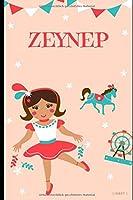 ZEYNEP: Schreibheft fuer die 1. Klasse - personalisiert mit dem Namen ZEYNEP - 36 Seiten