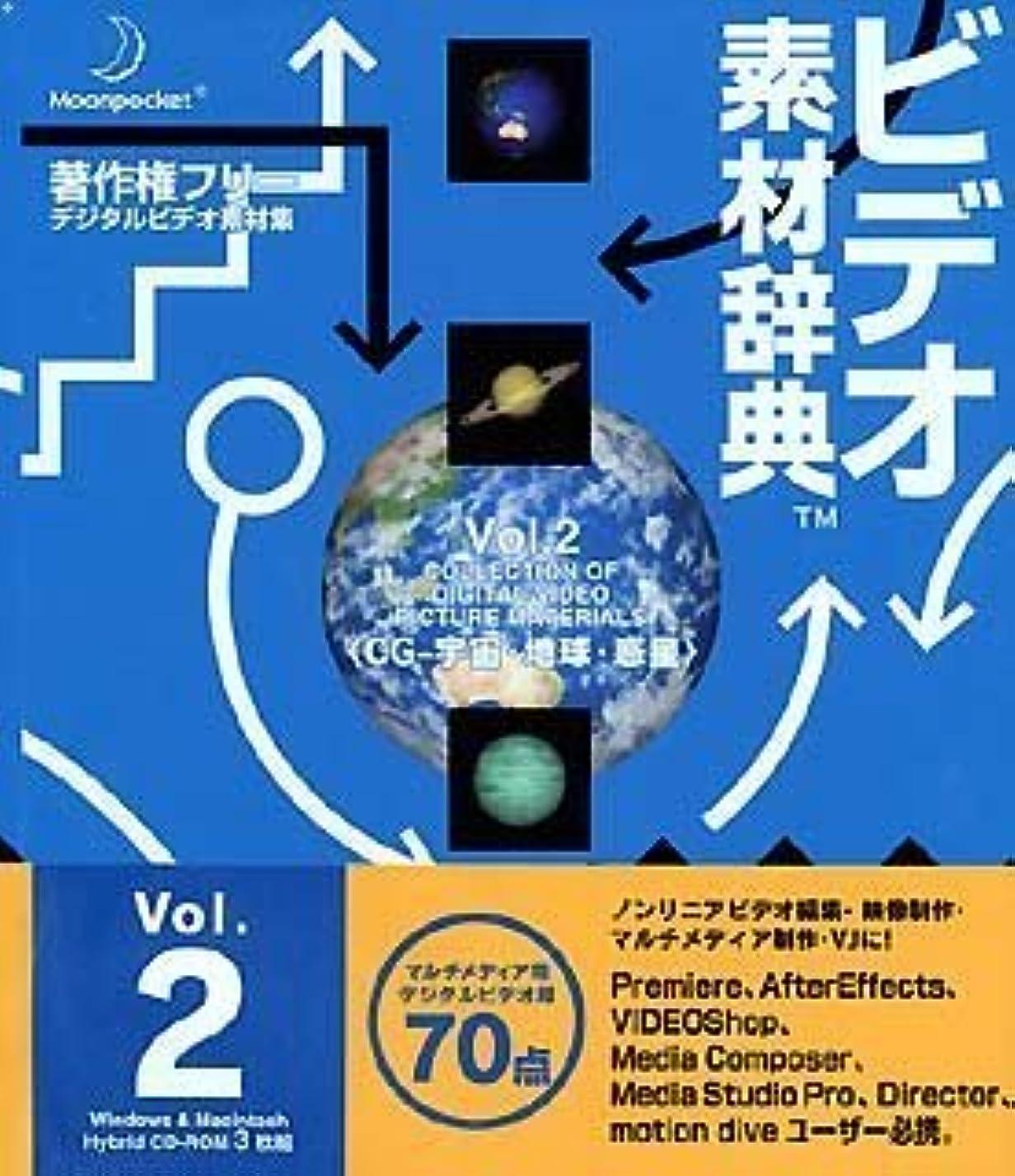 天国特徴国民ビデオ素材辞典 Vol.2 CG - 宇宙?地球?惑星