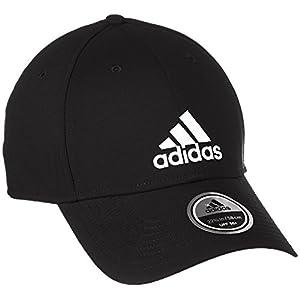 [アディダス] カジュアル 帽子・キャップ バイザー S98159 ブラック/ブラック/ホワイト 日本 OSFL-(Free サイズ)