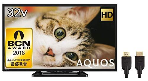 シャープ 32V型 液晶テレビ AQUOS LC-32E40 (HDMIケーブル1.8m付)