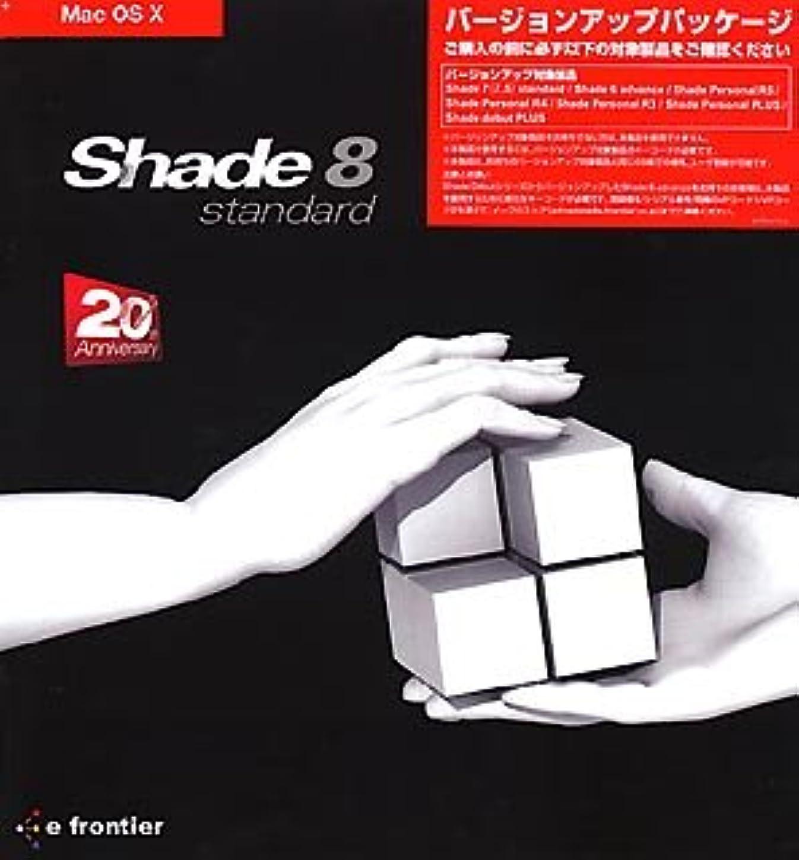 順番群集甲虫Shade 8 standard for MacOS X バージョンアップ版