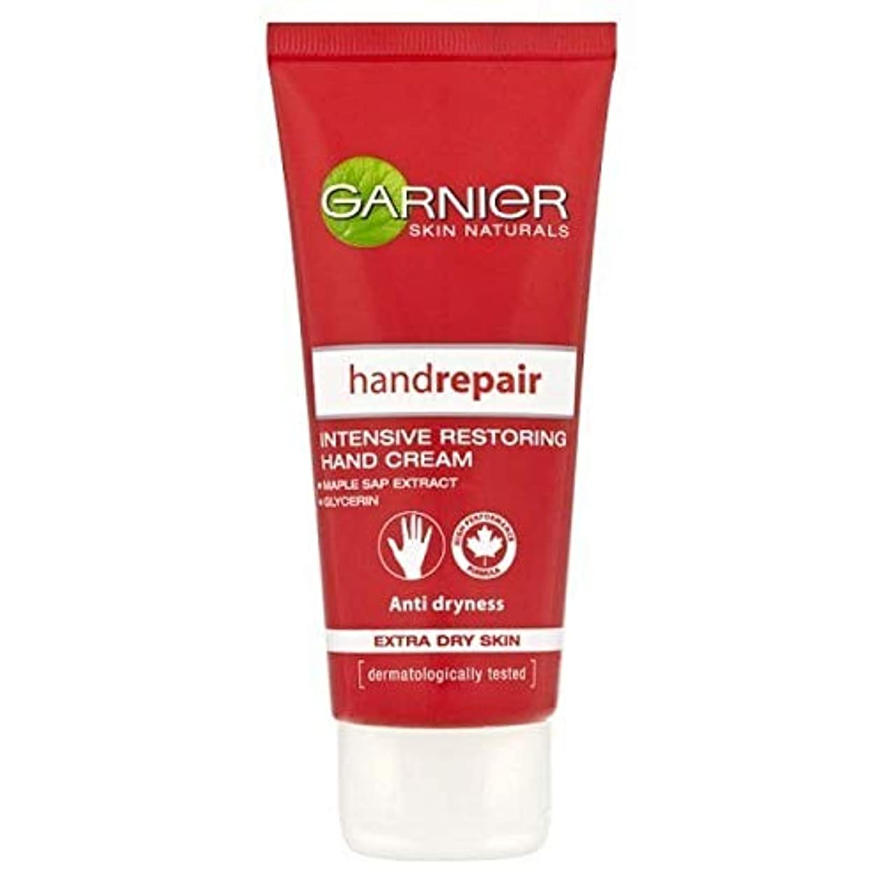 第九ライドシダ[Garnier ] ガルニエボディリペアハンドクリーム乾燥肌用100ミリリットル - Garnier Body Repair Hand Cream Dry Skin 100ml [並行輸入品]