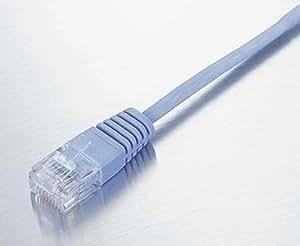 【2004年モデル】ELECOM LANケーブル CAT6準拠 Gigabit ウルトラフラット 1m ブルー LD-GU/BU1