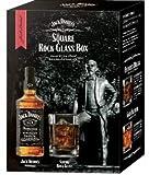 ジャックダニエル ブラック 瓶700ml スクエアロックグラスボックス2019