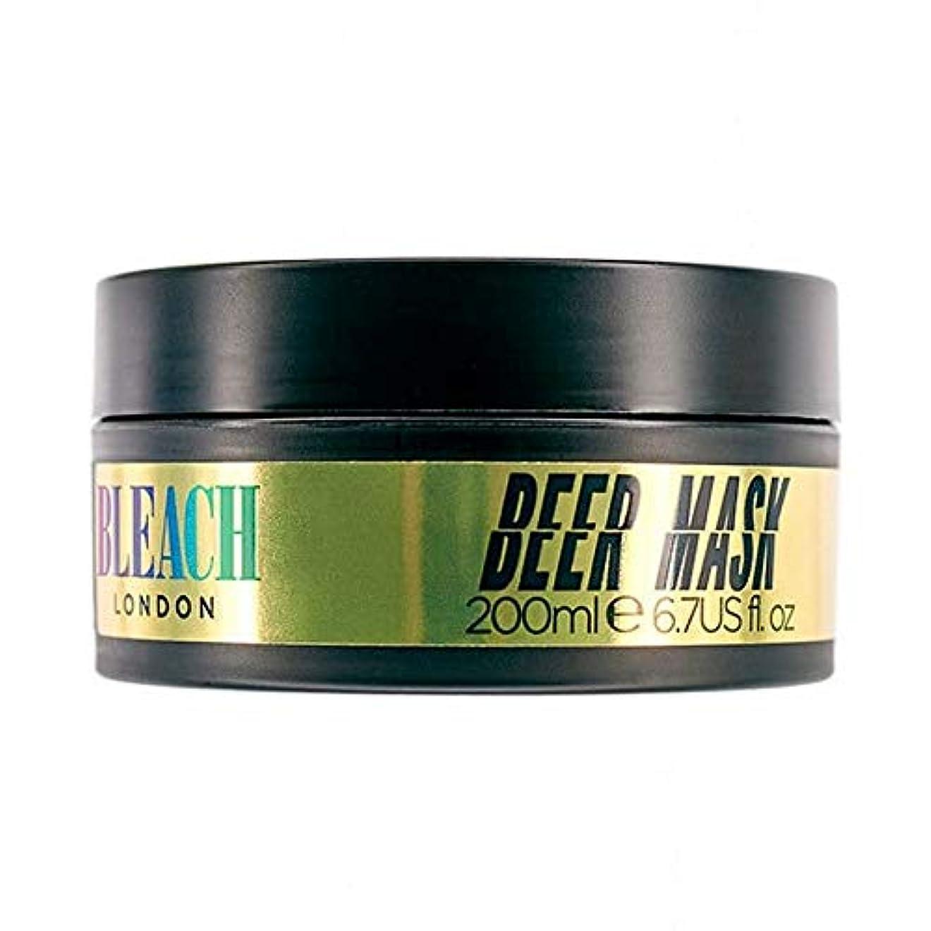 痴漢スピーチシロナガスクジラ[Bleach London ] 漂白ロンドンビールマスク200ミリリットル - Bleach London Beer Mask 200ml [並行輸入品]