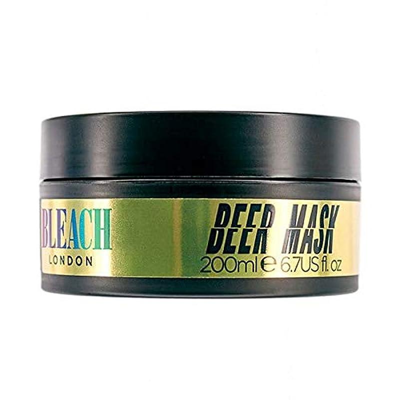 かりて布豊かにする[Bleach London ] 漂白ロンドンビールマスク200ミリリットル - Bleach London Beer Mask 200ml [並行輸入品]