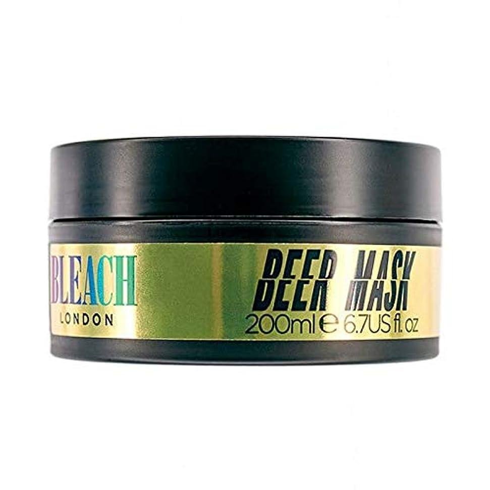 ハッピー失われたお手入れ[Bleach London ] 漂白ロンドンビールマスク200ミリリットル - Bleach London Beer Mask 200ml [並行輸入品]
