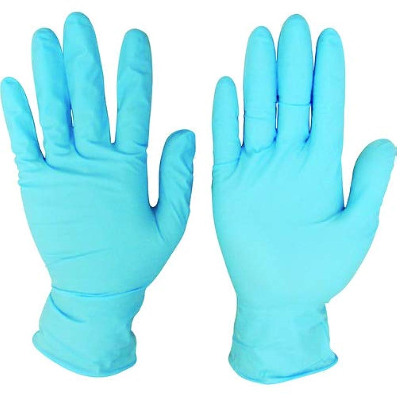 長いですアスペクト提案ニトリルディスポ手袋 青 No.210 パウダーフリー(100枚入)M